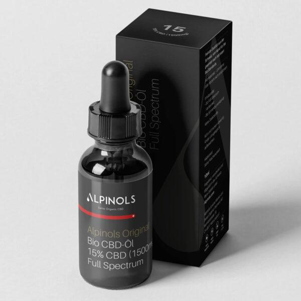 Alpinols CBD Tropfen mit THC