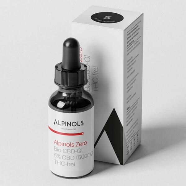 Alpinols CBD Tropfen ohne THC